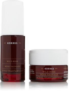 Korres Wild Rose Face Serum & Facial Duo