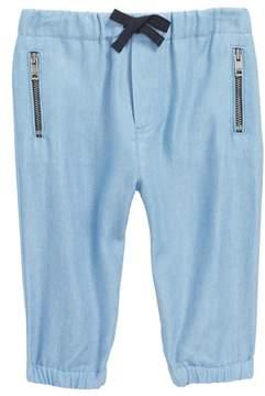 Burberry Mini Phillie Chambray Pants