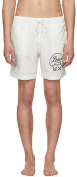 Loewe White Logo Swim Shorts