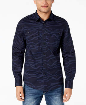 Sean John Men's Camouflage Utility Shirt, Created for Macy's