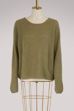 Vanessa Bruno Illusion mohair and alpaca sweater