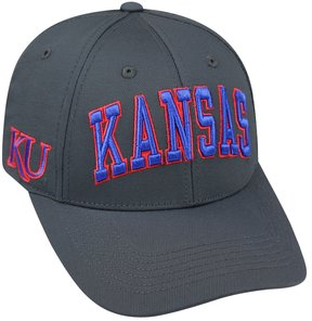 Top of the World Adult Kansas Jayhawks Cool & Dry One-Fit Cap