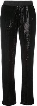 RtA Sequin Straight Leg Trousers