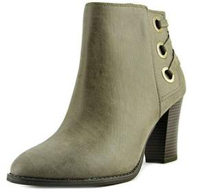 INC International Concepts Jesaa Women Round Toe Synthetic Gray Ankle Boot.