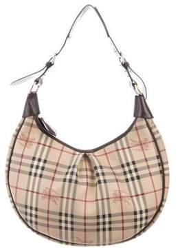 Burberry Rydal Haymarket Check Hobo