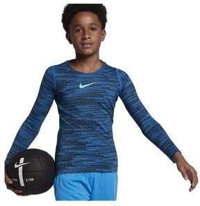 Nike Big Boys' (8-20) Dri-Fit Pro Warm L/S Training Top