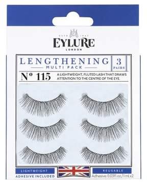 Eylure False Eyelashes Lengthening No.115 - 3 ct