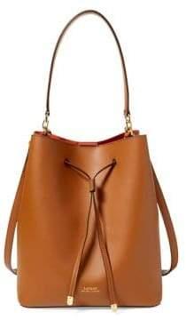 Lauren Ralph Lauren Dryden Drawstring Bucket Bag
