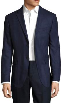 Jack Spade Men's Warren Fit Textured Double Face Sportcoat