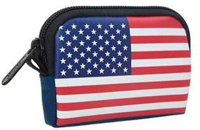 Manhattan Portage Unisex Stars And Stripes Coin Purse (set Of 2)
