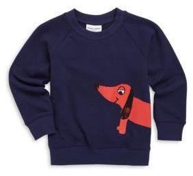Mini Rodini Baby's, Toddler's, Little Kid's & Kid's Dog Cotton Sweatshirt