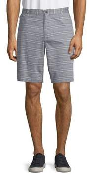 Dockers Striped Cotton-Blend Chino Shorts