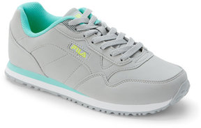 Fila Grey & Turquoise Cress Jogger Sneakers