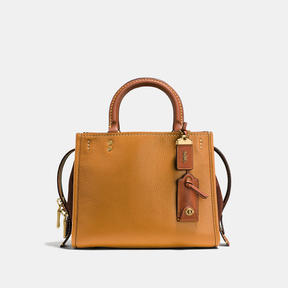 COACH Coach Rogue 25 In Mixed Leathers - BRASS/BAMBOO - STYLE