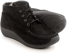 Wolky Gina Ankle Boots - Nubuck (For Women)