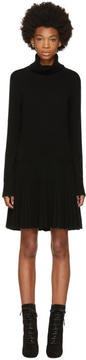 Chloé Black Cashmere Turtleneck Dress