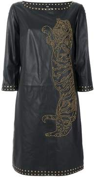 Class Roberto Cavalli loose fit dress