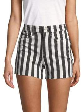 Calvin Klein Jeans Slub Twill Striped Shorts