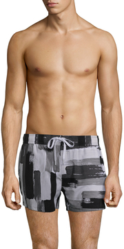 2xist Men's Photopaint Stripe Ibiza Shorts