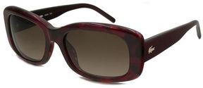 Lacoste Sunglasses - L665S / Frame: Red Horn Lens:Red Gradient
