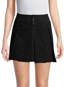 Y-3 Women's Pleated Mini Skirt