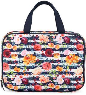Neiman Marcus Large Lay Flat Cosmetics Bag