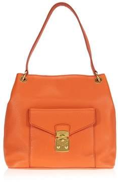 Miu Miu Papaya Leather Hobo Bag