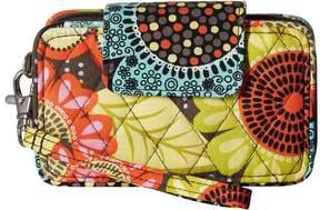 Vera Bradley Smartphone Wristlet Wristlet Handbags - FLOWER SHOWER - STYLE