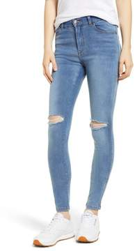 Denim & Supply Ralph Lauren Dr. Denim Supply Co. Lexy Ripped Skinny Jeans