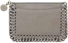 Stella McCartney Grey Falabella Card Holder