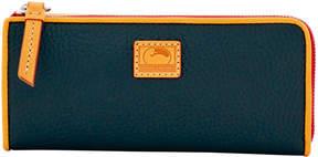 Dooney & Bourke Patterson Leather Zip Clutch
