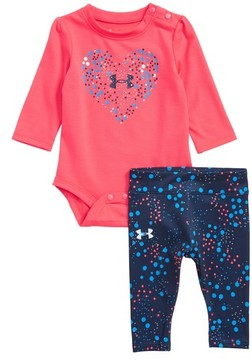 Under Armour Infant Girl's Astro Dot Bodysuit & Leggings Set