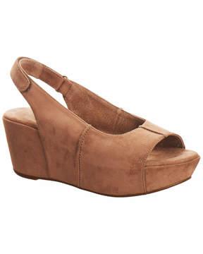 Antelope 562 Suede Wedge Sandal