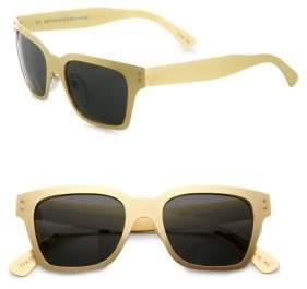 RetroSuperFuture Super by Metal America Oro Sunglasses