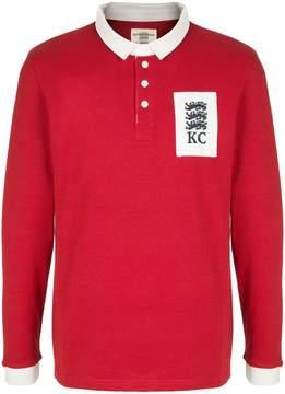 Kent & Curwen logo patch polo shirt