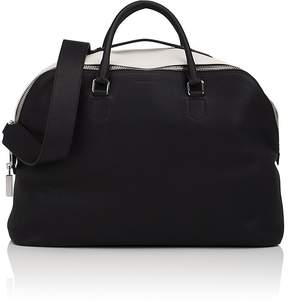 Calvin Klein Men's Leather Two-Compartment Tote Bag