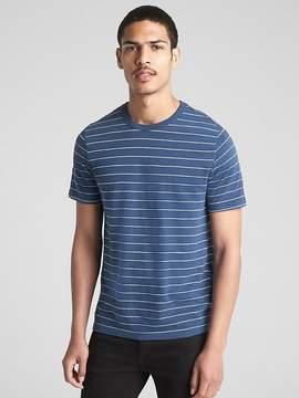 Gap Stripe Short Sleeve Crewneck T-Shirt