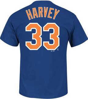 Majestic Men's Matt Harvey New York Mets Official Player T-Shirt