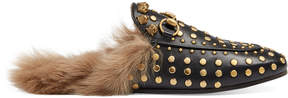 Gucci Princetown studded slipper