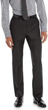 Marc Anthony Men's Slim-Fit Black Wool Suit Pants
