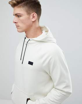 Abercrombie & Fitch Black Label Sport Hoodie in Cream
