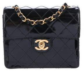 Chanel Patent Quilted Mini Flap Bag