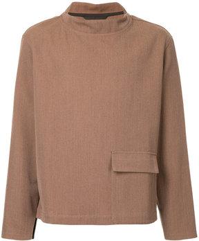 Lemaire flap pocket sweatshirt