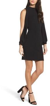 Charles Henry Women's Split Sleeve Shift Dress
