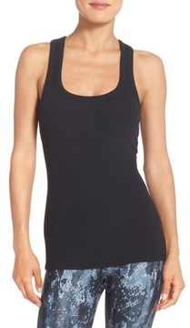 Alo Women's Support Ribbed Racerback Tank