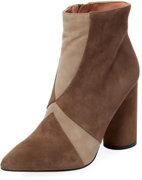 Sigerson Morrison Women's Knox Bicolor Leather Bootie