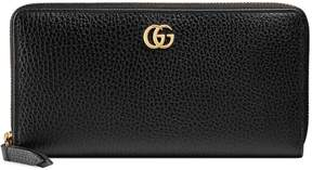Gucci Leather zip around wallet - BLACK LEATHER - STYLE