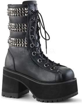 Demonia Women's Ranger 305 Platform Lace-Up Boot