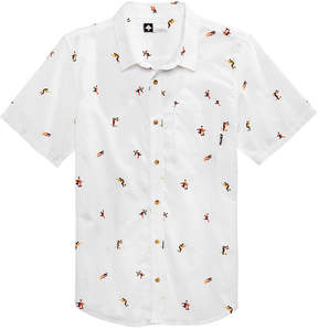 Lrg Men's Geo Figured Printed Shirt