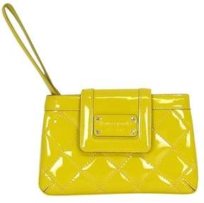 Kate Spade Yellow Quilted Mini Wristlet - YELLOW - STYLE